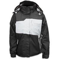 Precision Mountain Women's Monarch System Jacket - Black / White