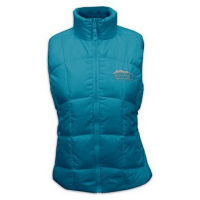 M T Mountaineering Women's Down Vest ( 10 ) - Turquoise