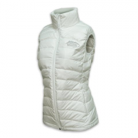M T Mountaineering Women's Down Vest - White