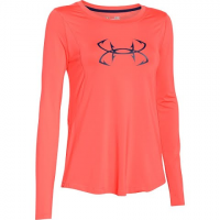 Under Armour Women's Coldswitch Thermocline Long Sleeve Shirt - After Burn
