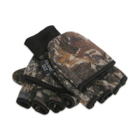 Hot Fingers Mens Camouflage Rag Wool Glomitt - Mossy Oak Breakup