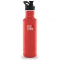 Klean Kanteen 27oz Classic Kanteen With Sport 3 . 0 Cap - Flame Orange