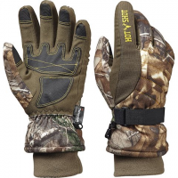 Hot Shot Bison Gloves - Realtree Xtra