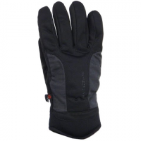 Manzella Men's Get Intense Touchtip Glove - Black / Charcoal