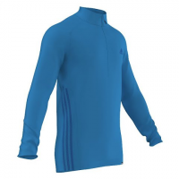 Adidas Outdoor Mens Terrex Swift Long Sleeve 1 / 2 Zip - Solar Blue