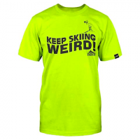 Line Skis Men's Get In The Van Tee - Safety Green