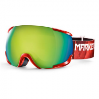Marker 16 : 10 + Snow Goggle - Red / Yellow Plasma Mirror