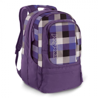 Jansport Air Cure Day Pack - Gry Tar / Purple Slick