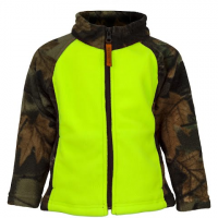 Image of Trail Crest Youth Toddler Outdoor Jiffy Jacket - Neon Green