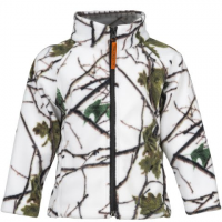 Trail Crest Youth Toddler Outdoor Jiffy Jacket - Snow Camo