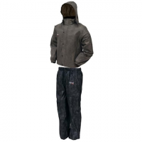 Frogg Toggs All Sport Rainsuit - Stone / Black