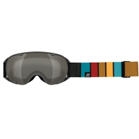 Image of K2 Women's Scene Snow Goggle - Gray Stripe / Silver Earth