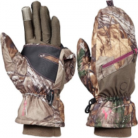 Hot Shot Women's Huntress Pop - Top Mittens - Realtree Xtra