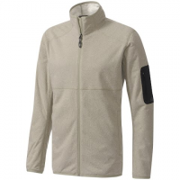 Adidas Outdoor Mens Ht Melange Fleece Jacket - Tech Beige