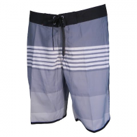 Zonal Clothing Men's Neon Boardshort - Neutral Gray