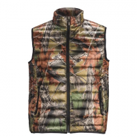 Trail Crest Men's Ultra Thurmic Silk Padded Quilted Vest - Highland Timber