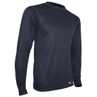 Polarmax Mens Acclimate 2 Ply Crew Base Layer ( Tall ) - Black