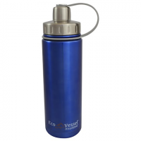 Eco Vessel Boulder 20oz Insulated Bottle - Blue Glow