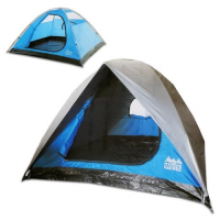 World Famous 3 Person Square Dome Tent