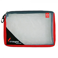 Onsight Window Pouch 3 ( Large ) - Red / Clear