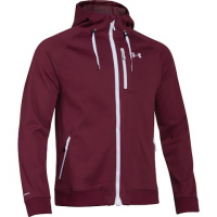 Under Armour Mountain Men's Coldgear Infrared Dobson Softshell Jacket - Deep Red