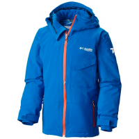 Columbia Youth Boy's Empower Insulated Hooded Jacket - Super Blue