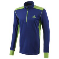 Adidas Outdoor Mens Winter Midlayer 1 / 2 Zip - Hero Ink