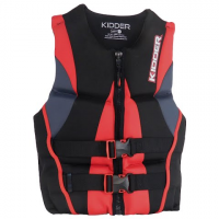 Full Throttle Men's Hinged Flex - Back Biolite Pfd - Red