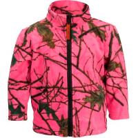 Trail Crest Youth Toddler Outdoor Jiffy Jacket - Bright Pink Frost
