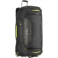 High Sierra At8 34 Inch Wheeled Duffel Bag - Black Zest