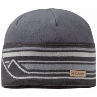 Columbia Alpine Pass Beanie - Graphite Mountain