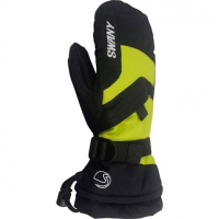 Swany Youth X - Over Jr Mittens - Black / Lime