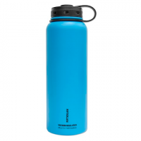Fifty / Fifty 40 Oz Double - Wall Vacuum - Insulated Water Bottle - Crater Blue