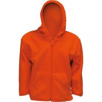 Trail Crest Toddler Everyday Easy Full Zip Fleece Hoody - Blaze