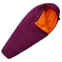 Mountain Hardwear Youth Bozeman Adjustable Sleeping Bag - Dark Raspberry