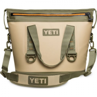 Yeti Coolers Hopper Two 20 Soft Cooler - Field Tan / Blaze Orange