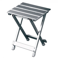 Travel Chair Side Canyon Table - Silver