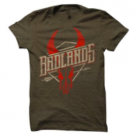 Badlands Men's Saloon Tee - Brown