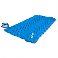 Klymit Double V Sleeping Pad - Blue / Charblk