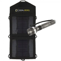 Goal Zero Bolt 160l Focus Flashlight Mobile Solar Charging Kit