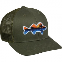 Outdoor Cap Men's Fishing Trucker Hat - Olive