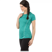 Avalanche Women's Jolla Short - Sleeve Tee Shirt - Teal