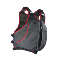 Extrasport Men's Evolve Type Iii Pfd - Charcoal / Red