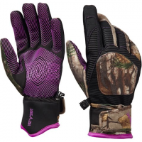 Hot Shot Women's Charge Gloves - Realtree Xtra