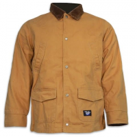 Walls Youth Flannel Barn Coat - Brown