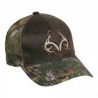 Outdoor Cap Men's Realtree Camo Trucker Cap - Dark Brown / Realtree Xtra