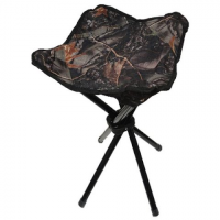 World Famous Camo Stool - 409burlycamo / Tan