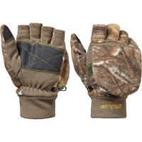 Image of Hot Shot Boy's Youth Bulls - Eye Pop - Top Mittens - Realtree Xtra