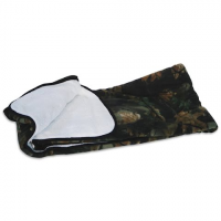 Trail Crest Reversible Soft Touch Fleece Camo Blanket - 95highlandtimber