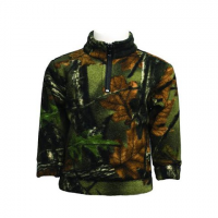 Trail Crest Youth Toddler Camo Everyday Easy 1 / 4 Zip - Highland Timber